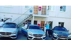 Squad goals: 3 friends show off their flashy Mercedes Benz cars