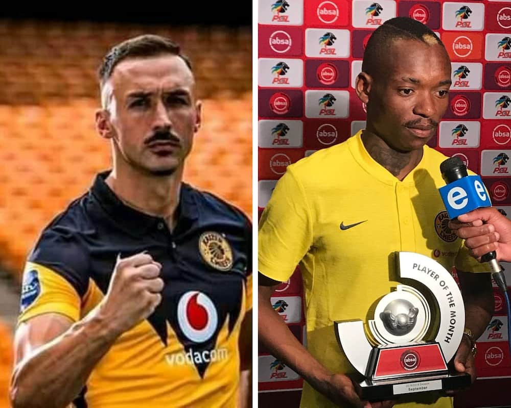 Who is the highest paid soccer players in South Africa?
