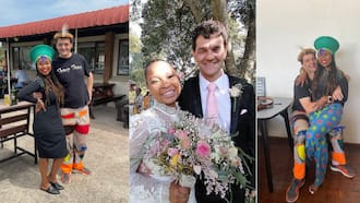 """""""Repeat offender"""": Gorgeous couple celebrates Heritage Day, hubby loves his pants"""