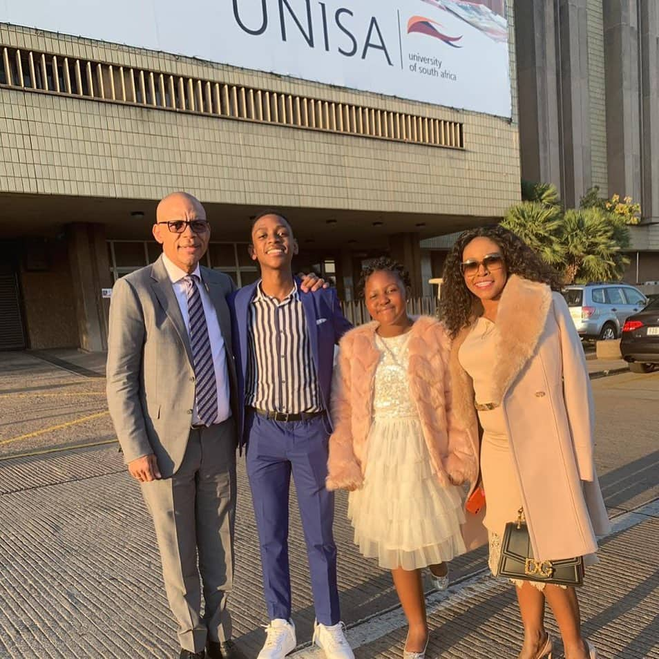 Pule Mabe family