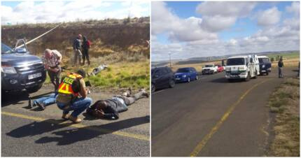 South Africans praise cops for foiling cash-in-transit heist in Qwaqwa