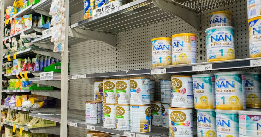 Department of Health, Infant formula Donations and Online Purchases of Infant Formula Illegal, homemade infant formula recipes