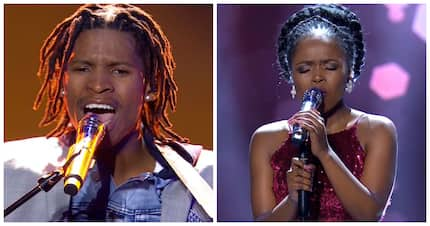 Fierce competition: #IdolsSA have tweeps torn between Thato and Yanga