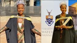 Miss South Africa Shudufadzo Musida graduates from Wits University