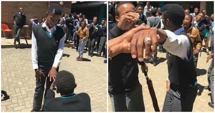 High school learner proposes to his boyfriend and it nearly broke Twitter