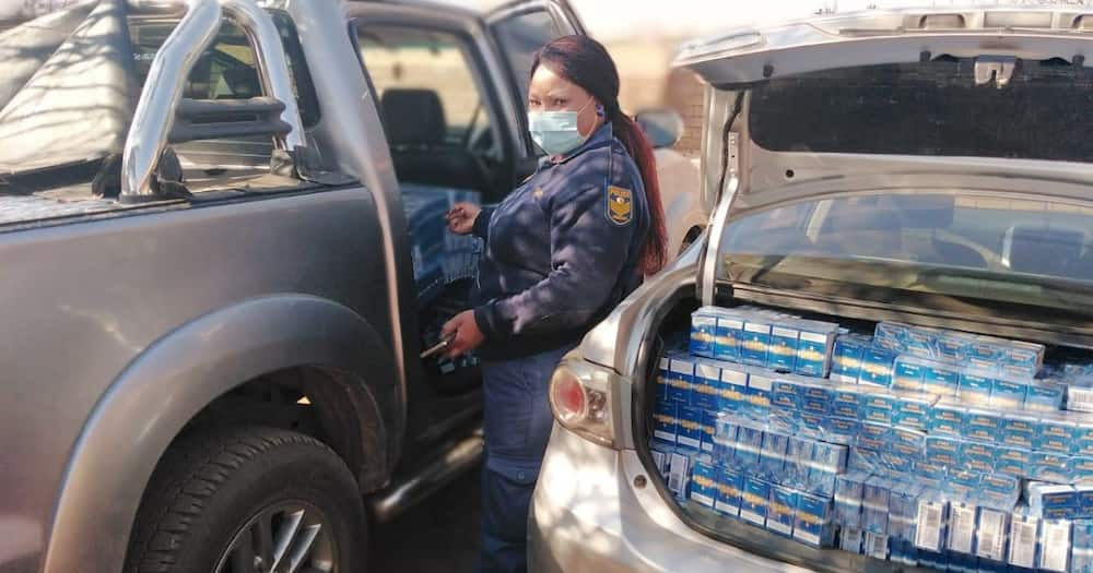Police confiscate R480 000 worth of illegal cigarettes in lockdown ops