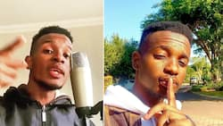 Sophie Ndaba's son, Ocean L hits 20k views with diss track