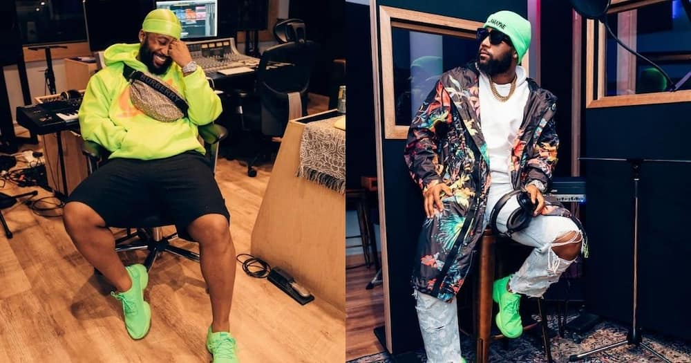 Cassper Nyovest questioned by fans for taking newborn to beach