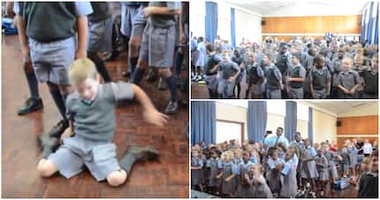 Viral video of kids dancing at school is absolute December vibes