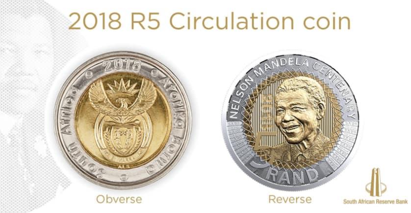 Mandela's 100th Birthday R5