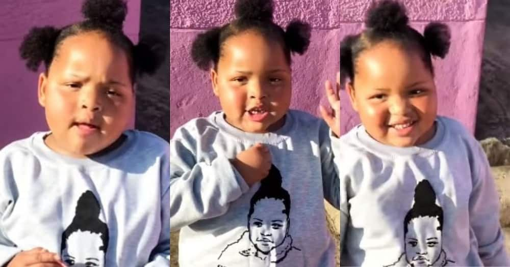 Adorable SA girl speaks about self love, wins Mzansi over
