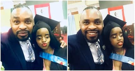 Gorgeous woman graduates despite losing her eyesight and both parents