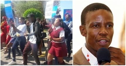 Prophet Mboro's followers march to Afro Worldview, demand church programme be aired