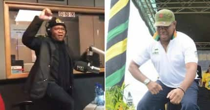 Fikile Mbalula is the ANC's slay king: Mbaks shows off his lit dance moves