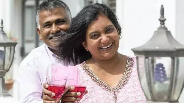 Peter and Simmi had their wedding on Valentine's Day in 1993. Source: IOL