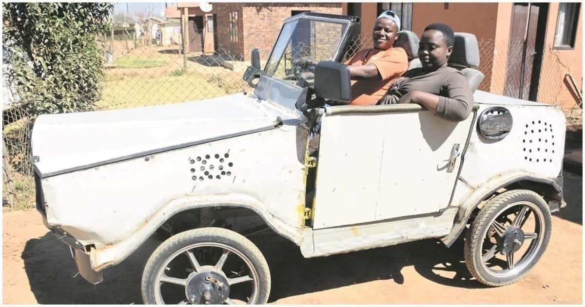 Ancestors told me to build a car, says Sibusiso Sibiya from Ekurhuleni
