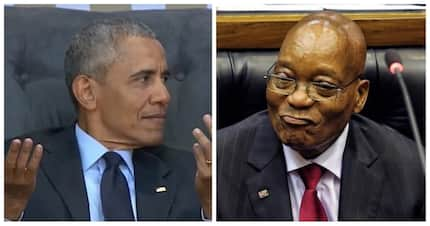 Jacob Zuma has no private jet, so he couldn't attend Obama's lecture