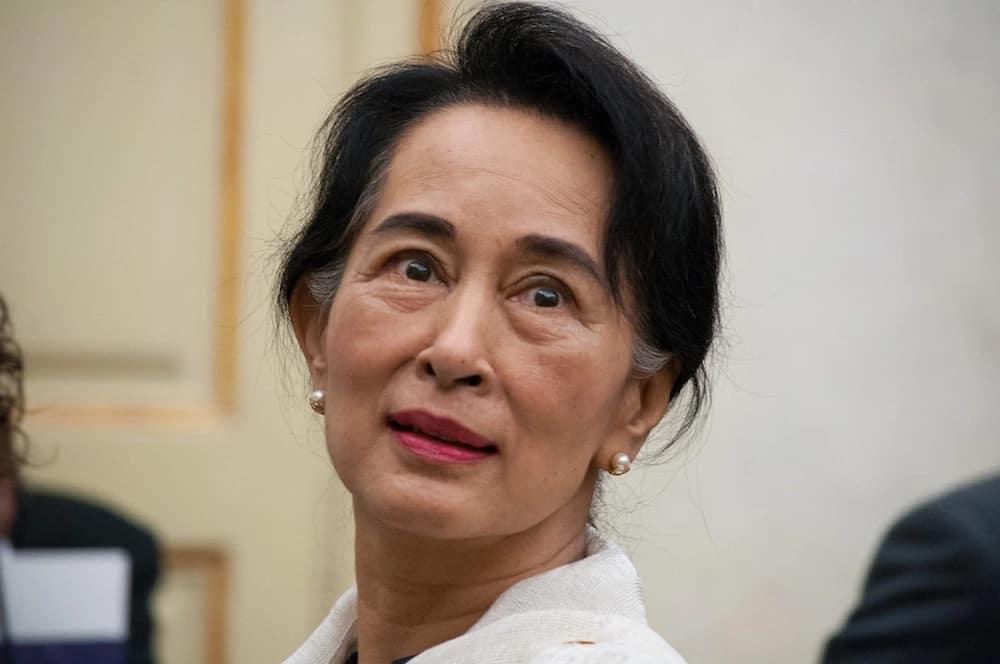 Aung San Suu Kyi, Myanmar's leader. Source: Google
