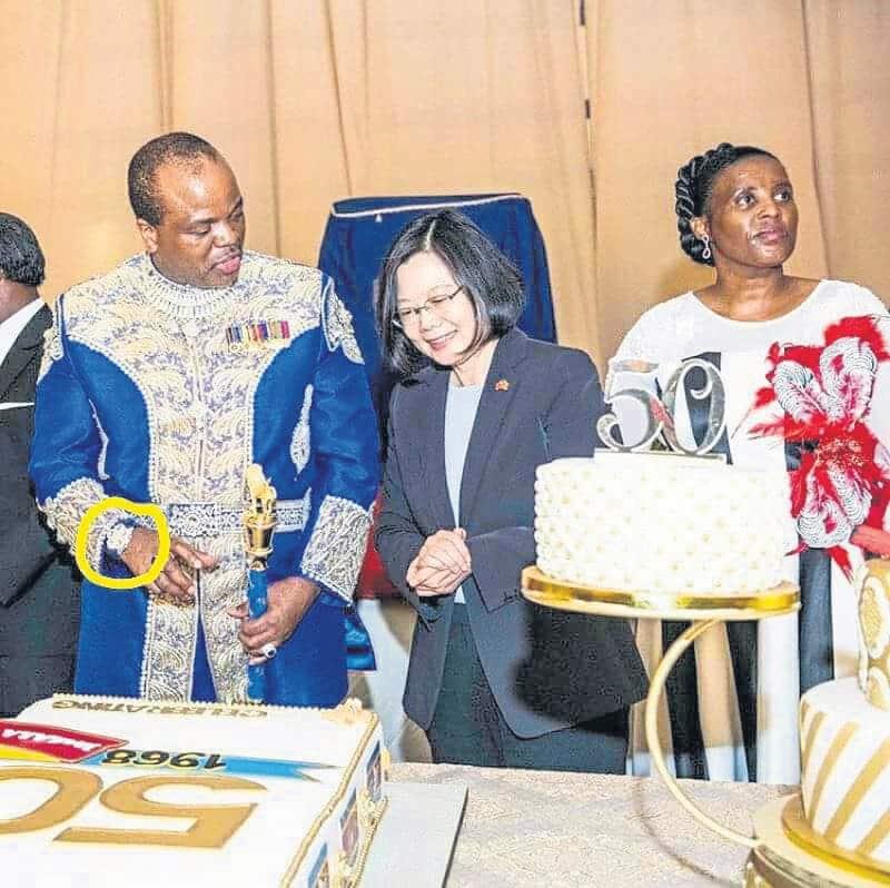 The lavish birthday of King Mswati: Diamonds, R15 million and a 'gold' room