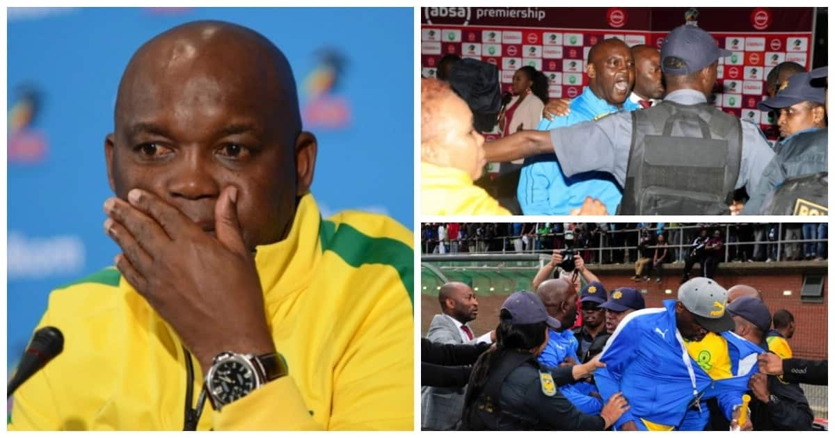 Pitso Mosimane won't face Durban police anytime soon over assault charges