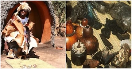 Traditional healer claps back at haters: 'I am not a fake prophet'