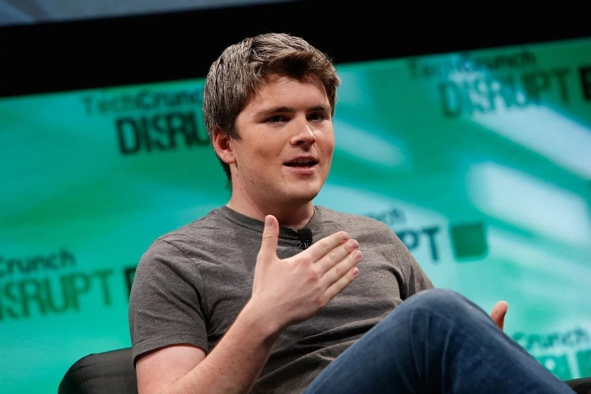 John Collison, founder of payment company Stripe. Photo: Getty