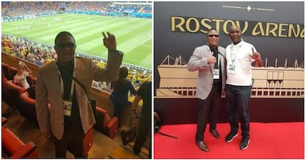 Fikile Mbalula having time of his life at World Cup in Russia