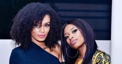 DJ Zinhle and Pearl Thusi share a teary episode of #BehindTheStory
