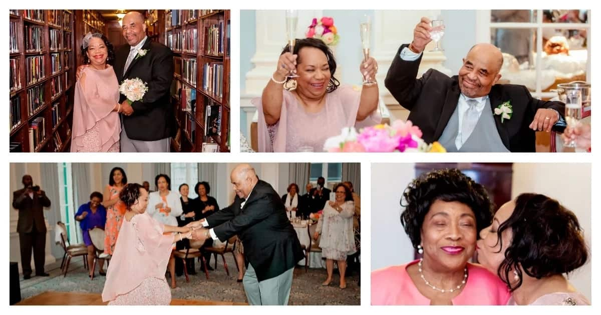Newlyweds after 50: Proof that true love doesn't only come when you're young