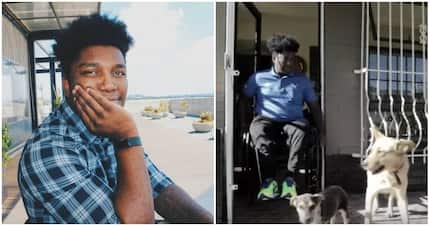 Despite his disability, Sandile Mkhize lives life to the fullest