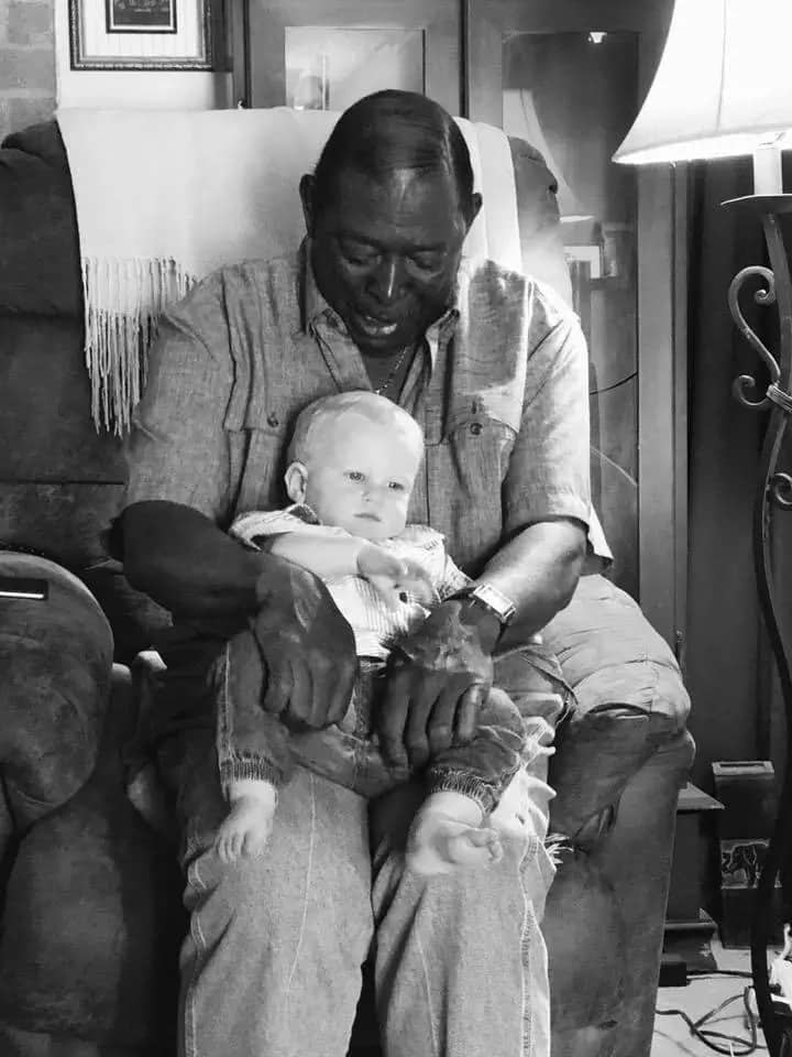 A family of a different kind: Black man accept his white neighbour's baby as his own grandson