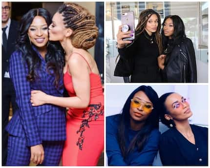 Pearl Thusi brought DJ Zinhle to tears with her gift #BestieGoals