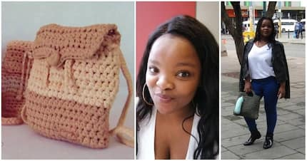 Lady makes stunning crochet products and earns a living out of it