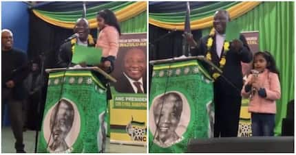 'You are the best president:' Durban girl steals Ramaphosa's heart