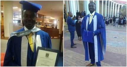 From poor barefoot school boy to successful Doctor: How a man with only R2.50 got his PhD