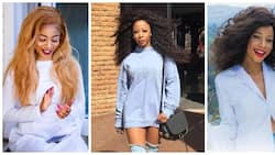 """Disgusted: Kelly Khumalo says South Africa is a """"sick"""" country"""