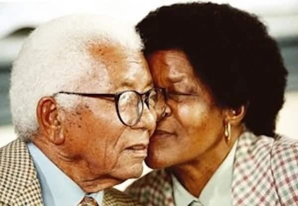 Walter Sisulu and Albertina Sisulu. Source: SA History Online