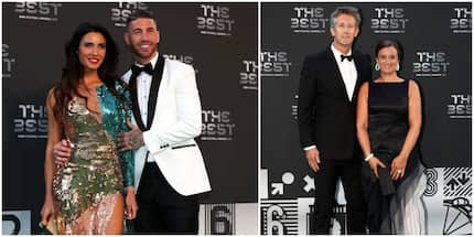 Top 10 best dressed football couples at the Best FIFA Football Awards