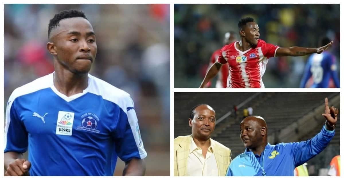 Mamelodi Sundowns confirm sensational signing of Maritzburg United midfielder Lebogang Maboe