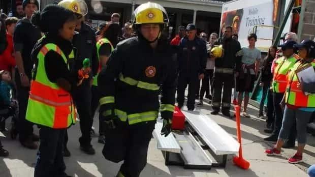 Meet SA's fittest firefighter: Single Baigum Abrahams, 23, wins toughest firefighter competition