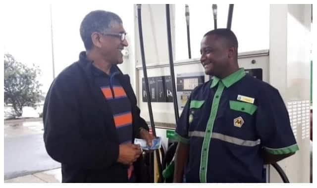 Petrol attendant proves boss wrong, wins R100 bet over fake cash
