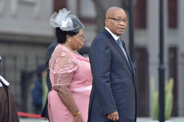 Former President Jacob Zuma pictured with his first wife, MaKhumalo, at a past event. Source: Times Live