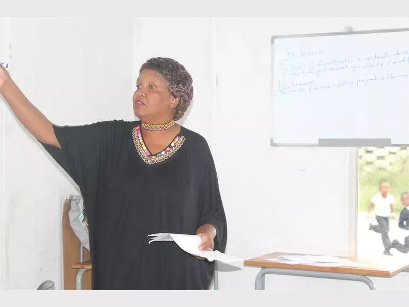 Maureen Mtshali obtained her teaching degree at age 57. Source: africanreporter.co.za