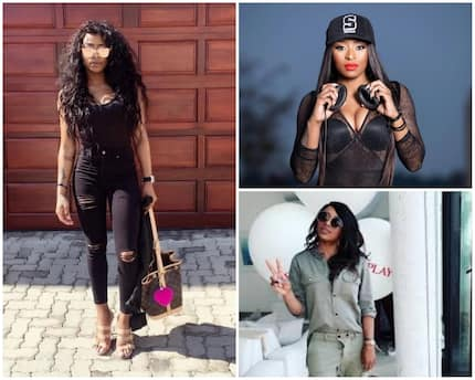 DJ Zinhle took a walk down memory lane with 4 throwback pics