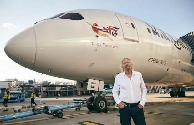 Virgin Atlantic names plane in honour of Madiba: Meet Lady Freedom
