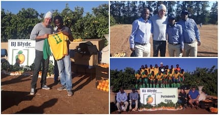 Mark Fish starts project to scout for football talent in rural areas