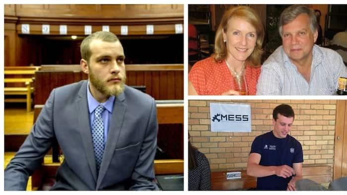 Henri van Breda sentenced to 3 life terms for murdering his family