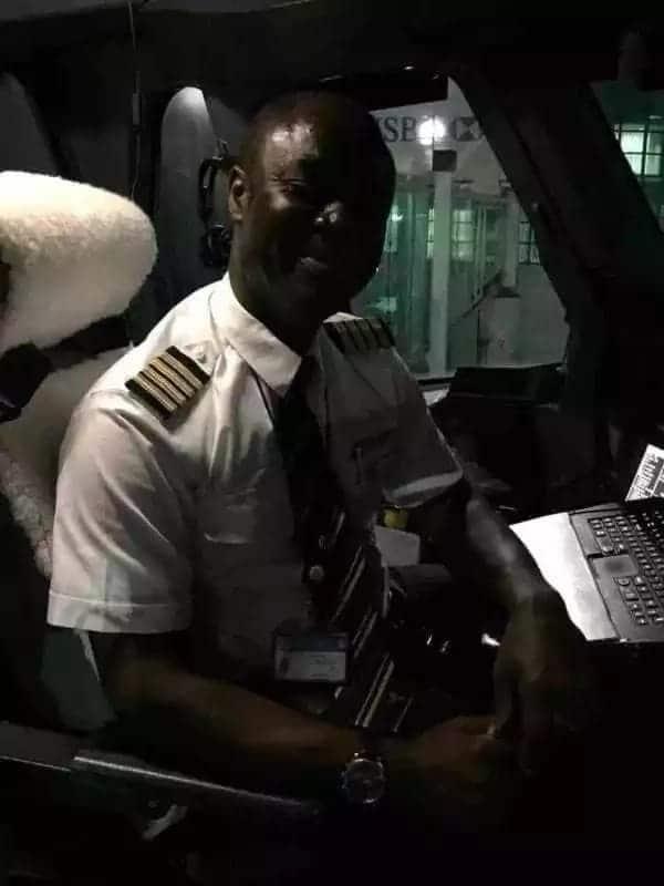 Meet Ghanaian pilot Captain Quainoo who flies the biggest plane in the world