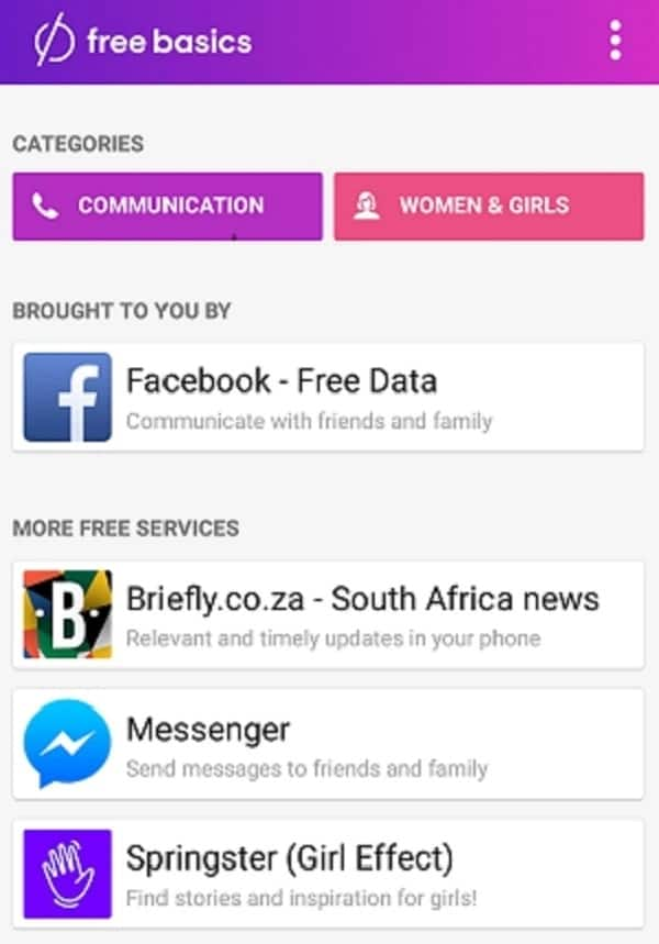 Save mobile data with FreeBasics: Briefly is now available on the app