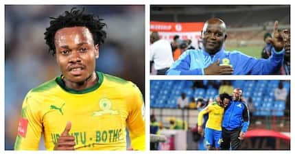 Mamelodi Sundowns deny rift with Percy Tau over move to England